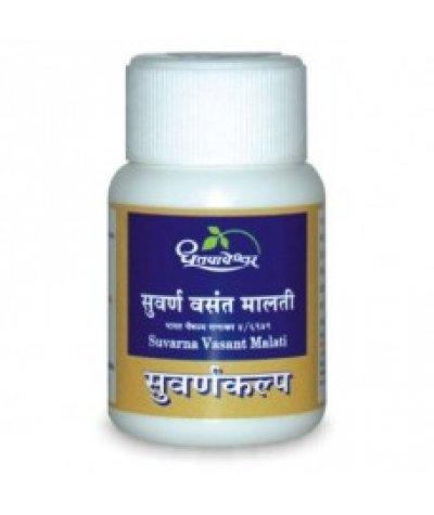 Dhootapapeshwar Suvarna Vasant Malati Rasa Premium Quality Gold