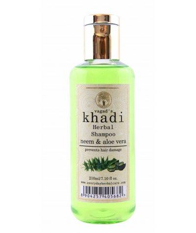 Vagad's'S Khadi Neem And Aloe Vera Shampoo