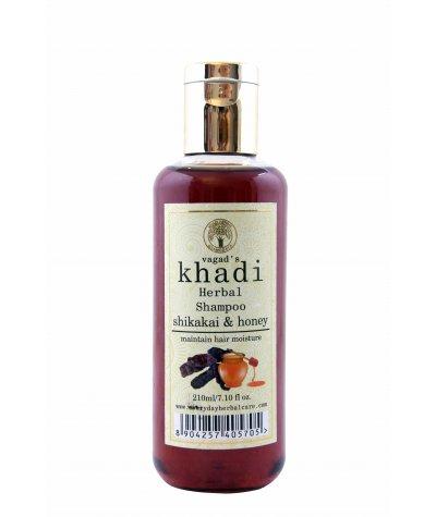 Vagad's Khadi Shikakai And Honey Shampoo