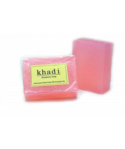 Vagad's Khadi Strawberry Soap