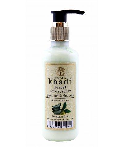 Vagad's Khadi Green Tea And Aloe Vera Conditioner