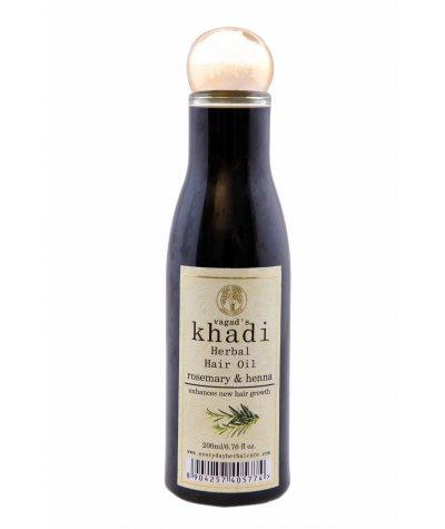 Vagad's Khadi Rosemary And Henna Hair Oil