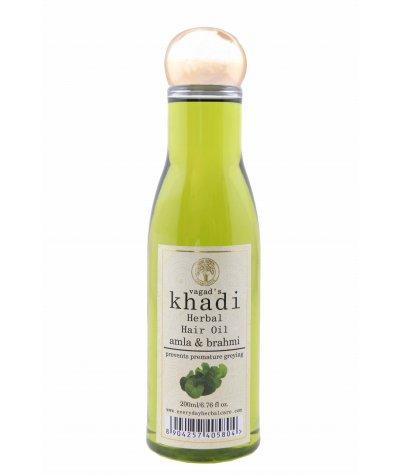 Vagad's Khadi Amla and Brahmi Hair Oil