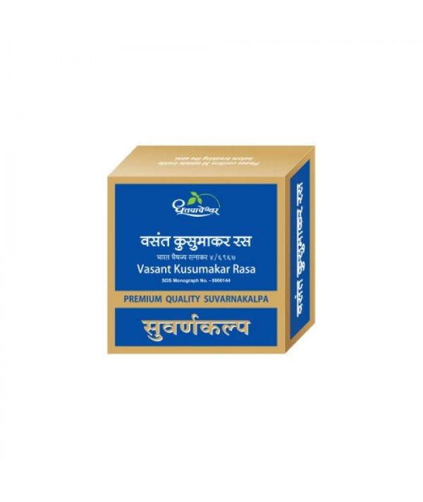 Buy Dhootapapeshwar Vasant Kusumakar Ras Premium Quality Gold at Best Price Online