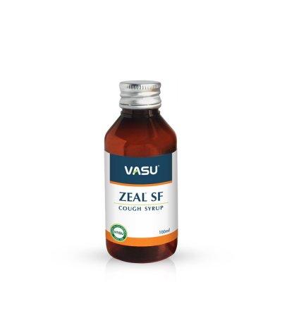 Vasu Zeal Sf Cough Syrup