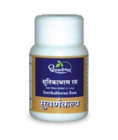 Dhootapapeshwar Sootikabharan Rasa Premium Quality Gold