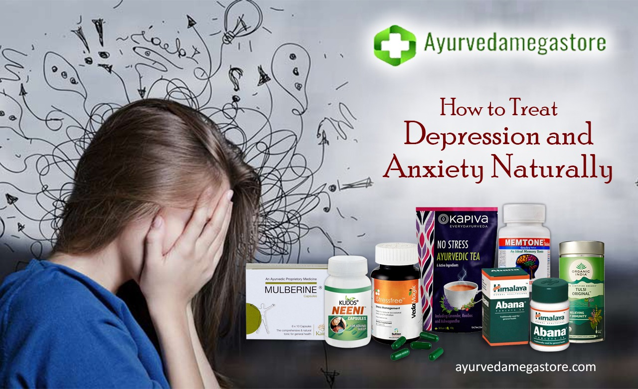 Treat depression and anxiety naturally