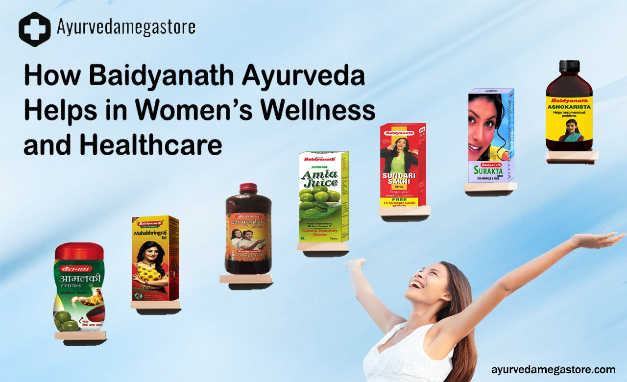 How Baidyanath Ayurveda Helps in Women's Wellness and Healthcare
