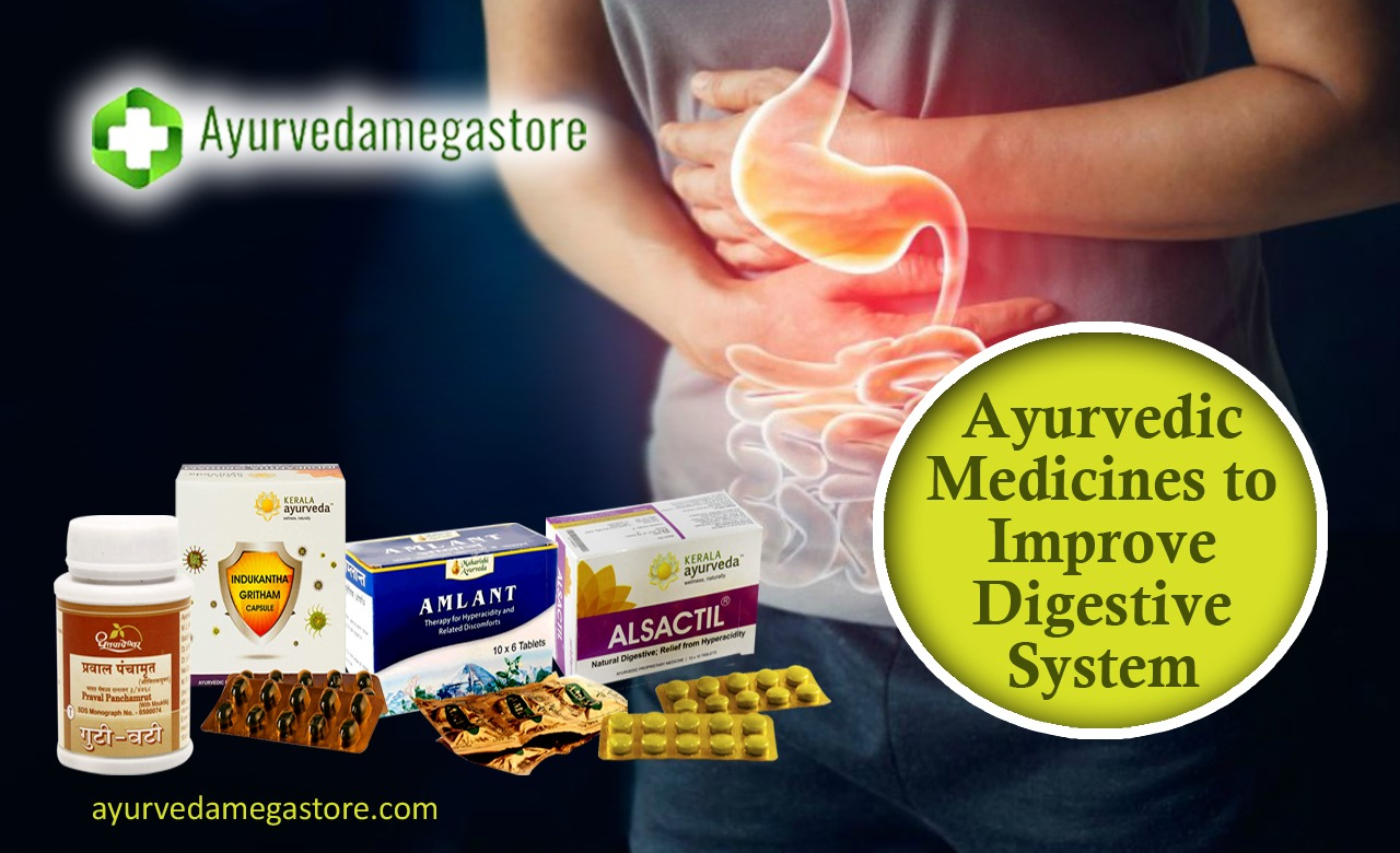 Ayurvedic Medicines to Improve Digestive System
