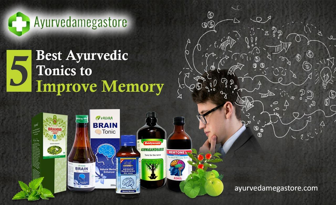 5 Best Ayurvedic Tonics to Improve Memory