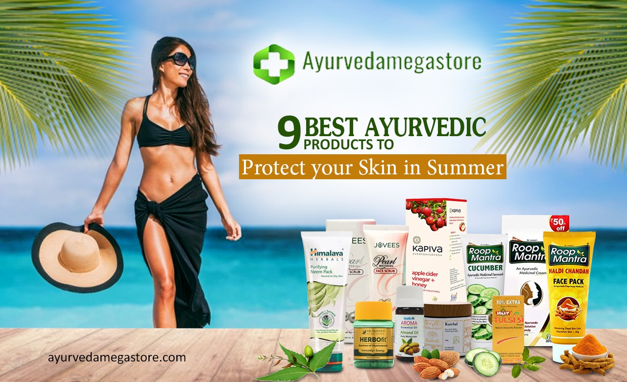 9 best ayurvedic products to protect your skin in summer
