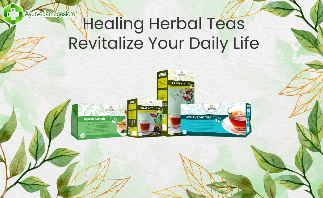 Top 5 Best Herbal Teas of Pravek Ayurvedic -Buy Online In India at Low Prices