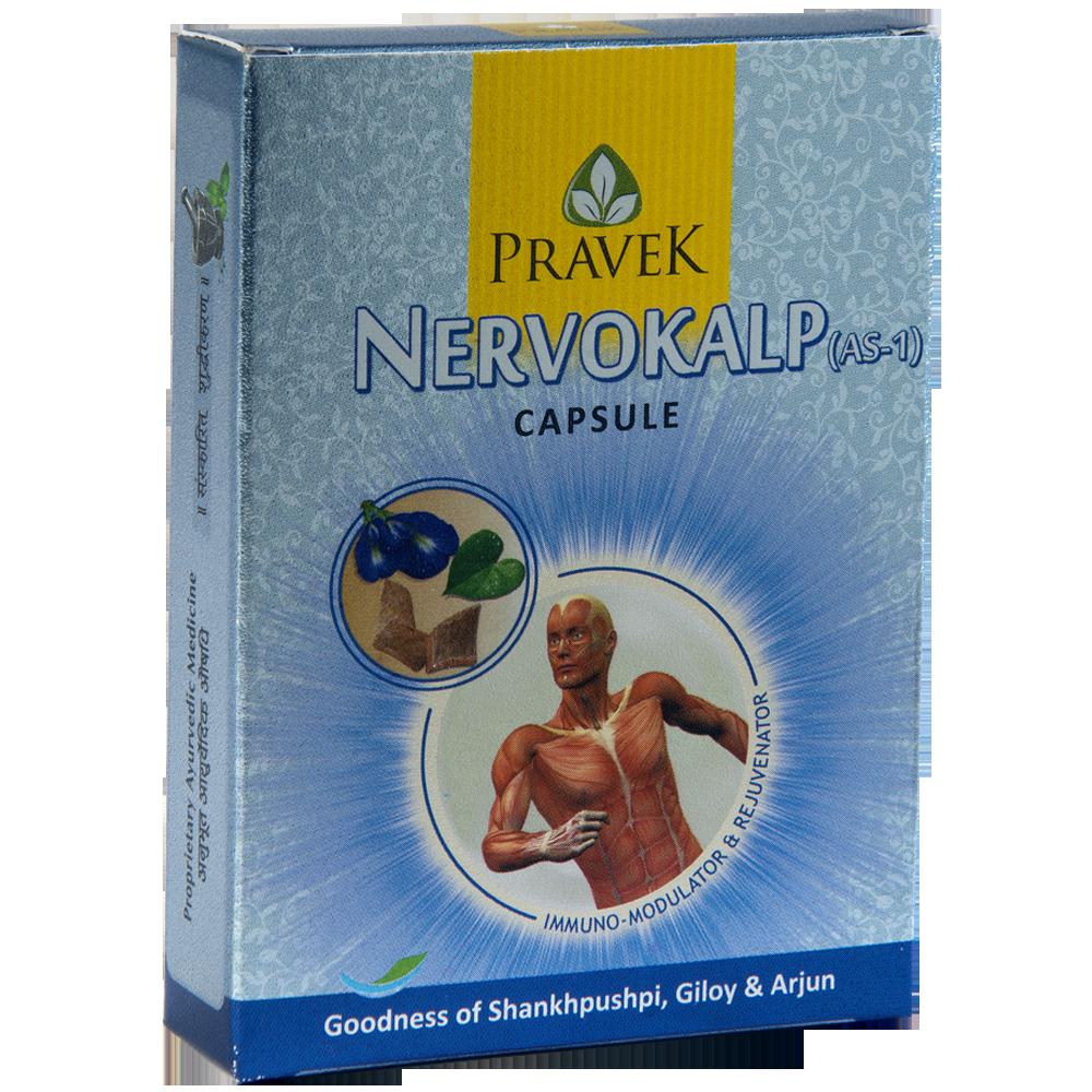 Buy Pravek Nervokalp Capsule Online at Best Price