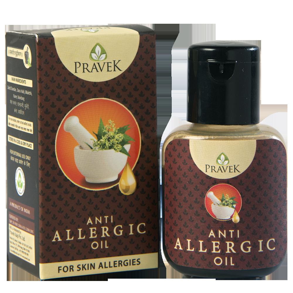 Buy Pravek Anti Allergic Oil Online at Best Price