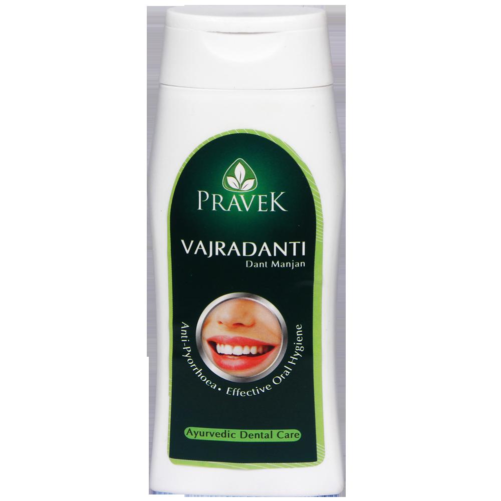 Buy Pravek Vajradanti Dant Manjan Online at Best Price