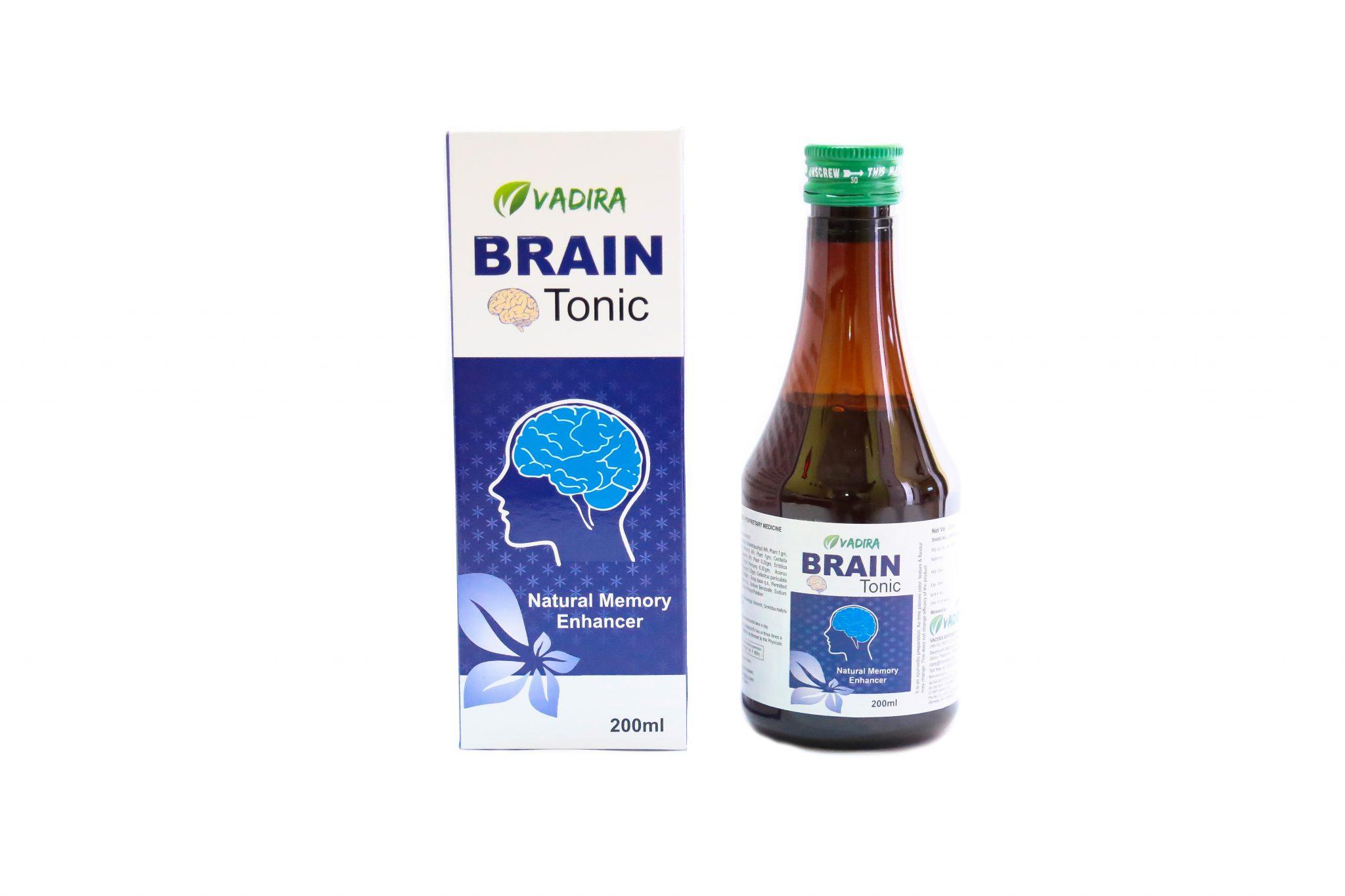 Vadira Brain Tonic Ayurvedic Tonic For Boosting Memory