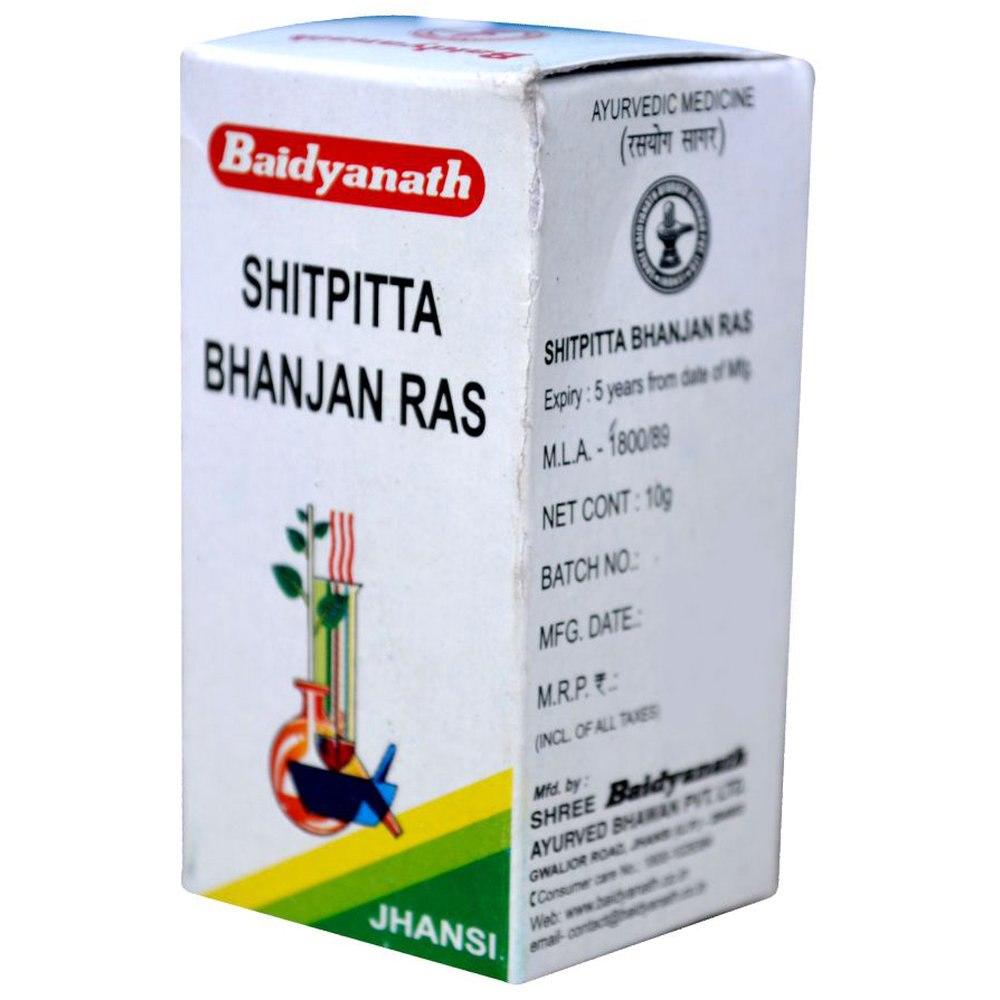 Baidyanath Sheetpitta Bhanjan Ras