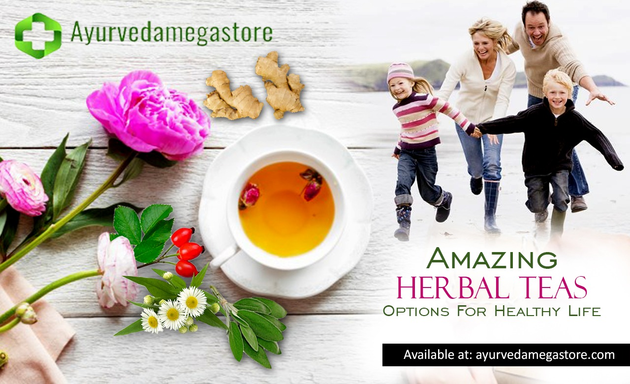 Amazing Herbal Teas Options For Healthy Life